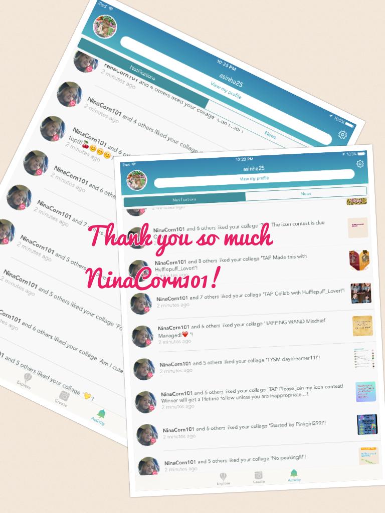 Thank you so much NinaCorn101!