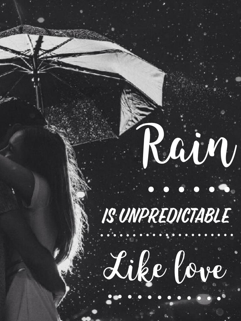 Rain ⋯⋯