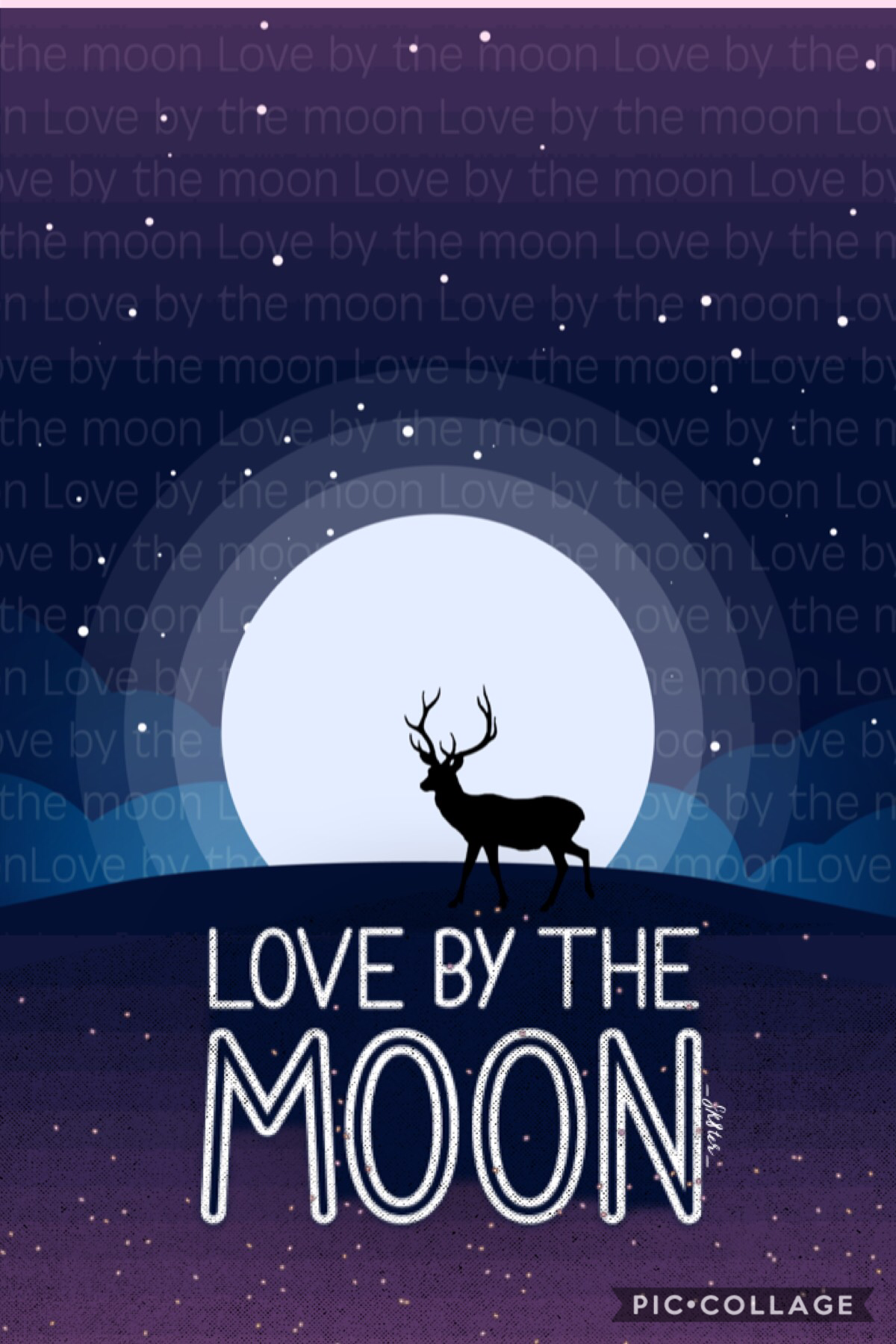 Love by the moon!! This font (typeface) was created by me as well as my background!! It was so much fun to make :) 🌙 ☀️ love by the moon was inspired by my tattoo !!  (In remixes)