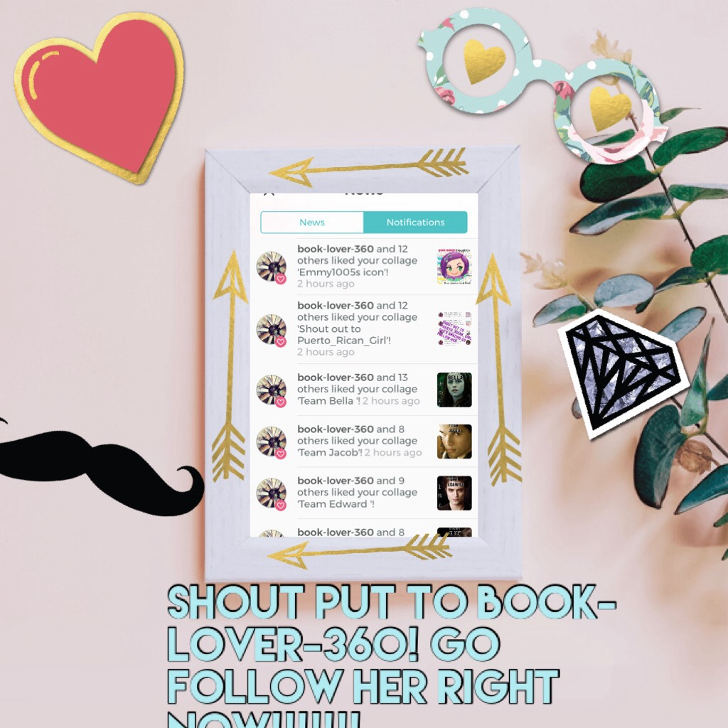 Shout put to book-lover-360! Go follow her right now!!!!!!!