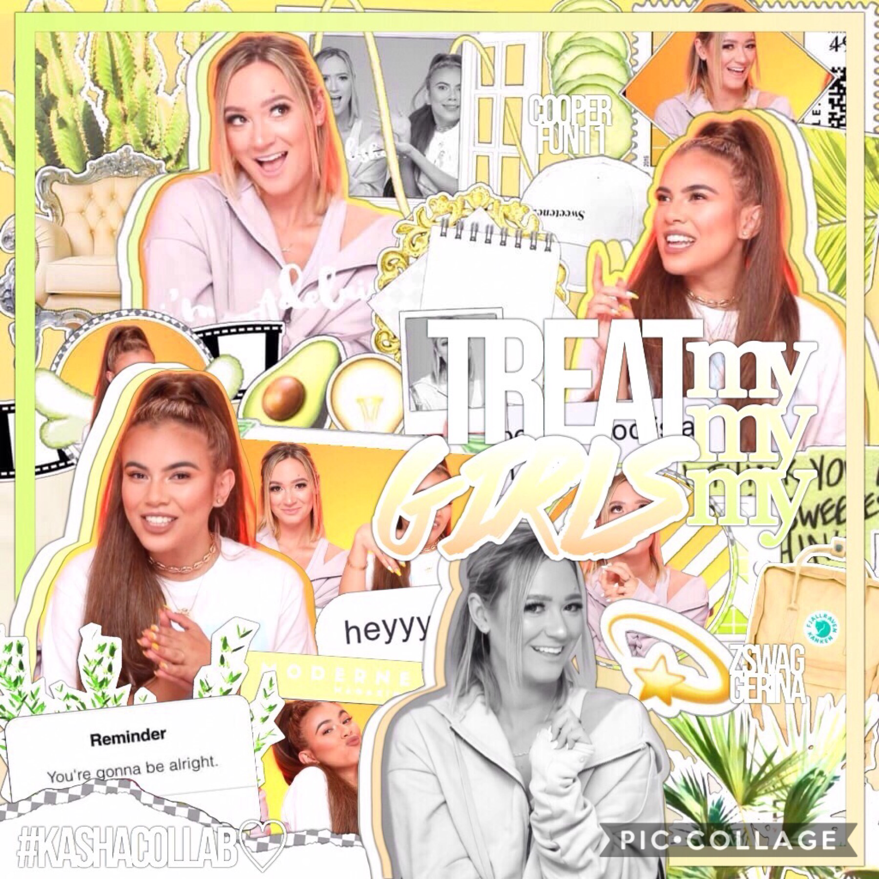 best friends collab with my one and only @cooperfun11 ☺️💛 also I'm on spring break finally ! 🥑 it means that not only I'll be more active but I'll also post more :) and for sure collab more with this baby bean 💗👯 #clickbaitchicks
