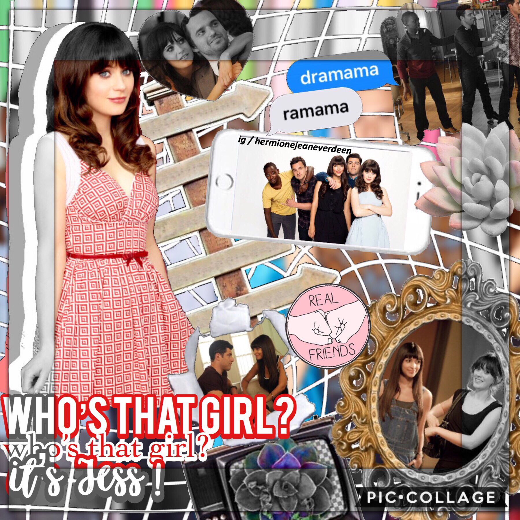 tap my first New Girl edit! New Girl is a really funny show with a great storyline, I highly recommend it! there are 6 seasons on Netflix and the second half of the 6th season is airing soon(I think)