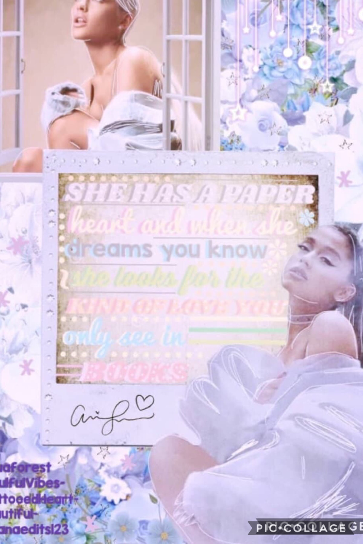💖Tap (PLEASE) MEGA COLLAB BY THEDAILYGRANDE   Background: -TattooedHeart- (me) Pngs/final touches: arianaedits123  Choose the overall theme and colour theme: Beautiful- Text: SoulfulVibes- Choose the quote: aquaforest   Go follow all of those AMAZING peop