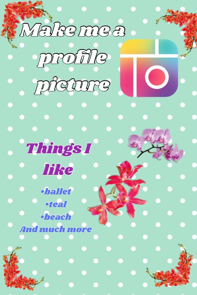 Make me a profile picture