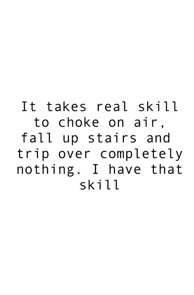 I have this skill