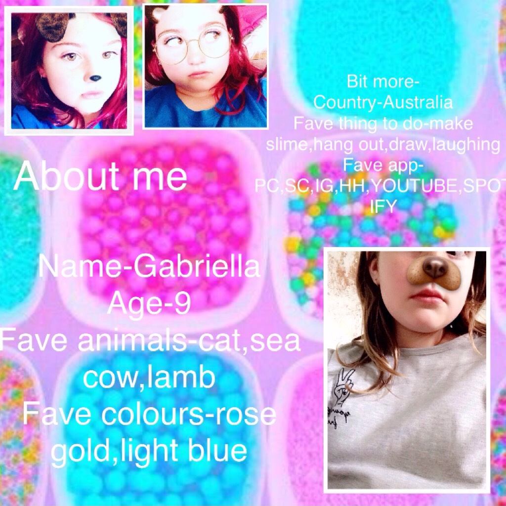 {sOmE fAcTs FrOm GaBrIeLla}