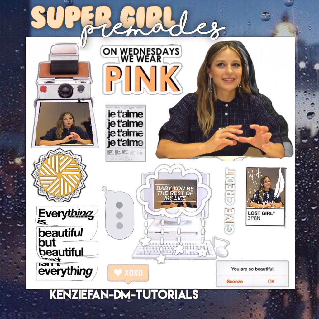 Super girl premades hope you guys like them. Next probably theme dividers