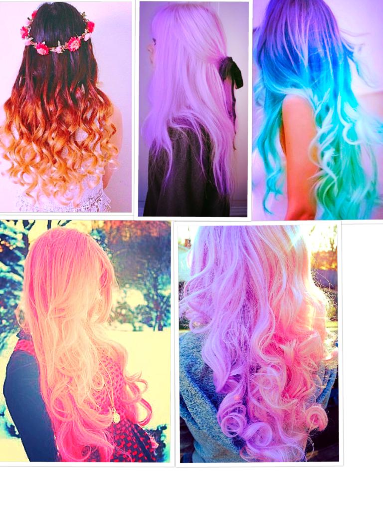 Love colored hair!