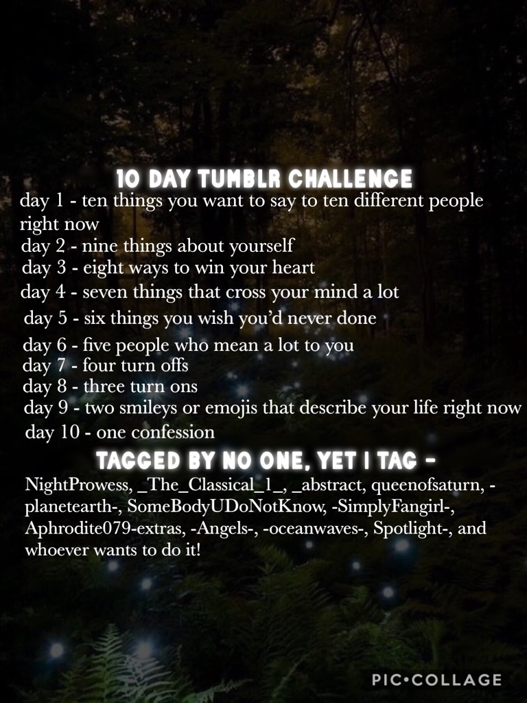 💚10 DAY TUMBLR CHALLENGE💚 Sorry for not posting I've been really busy💚 Plus I have no inspo, so I'll try getting a collage up!💚 ITS SUMMER FINALLY💚 #PCONLY #IMHYPED #CHECKOUT @HIGHSCHOOLCOLLAGE- ^^ifyouwereontherebefore #SEEYA 💚💚💚💚