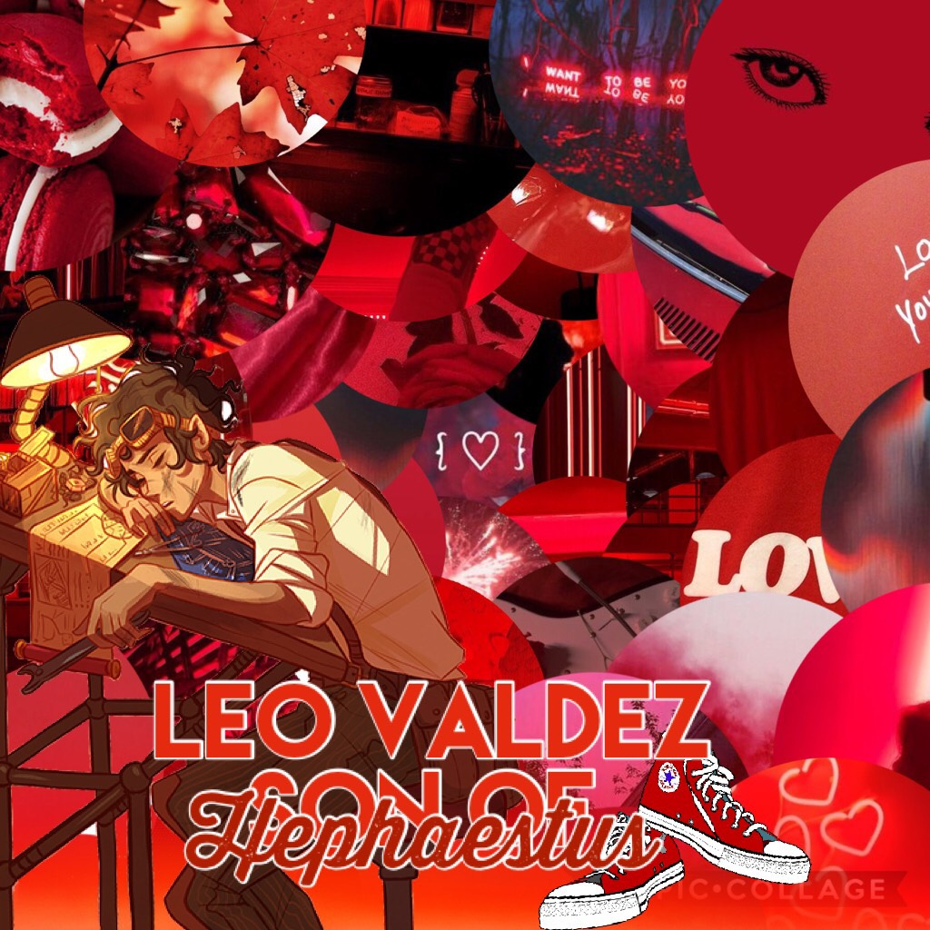 🔥🔥🔥 Leo Valdez, Son of Hephaestus. Hot Stuff💯