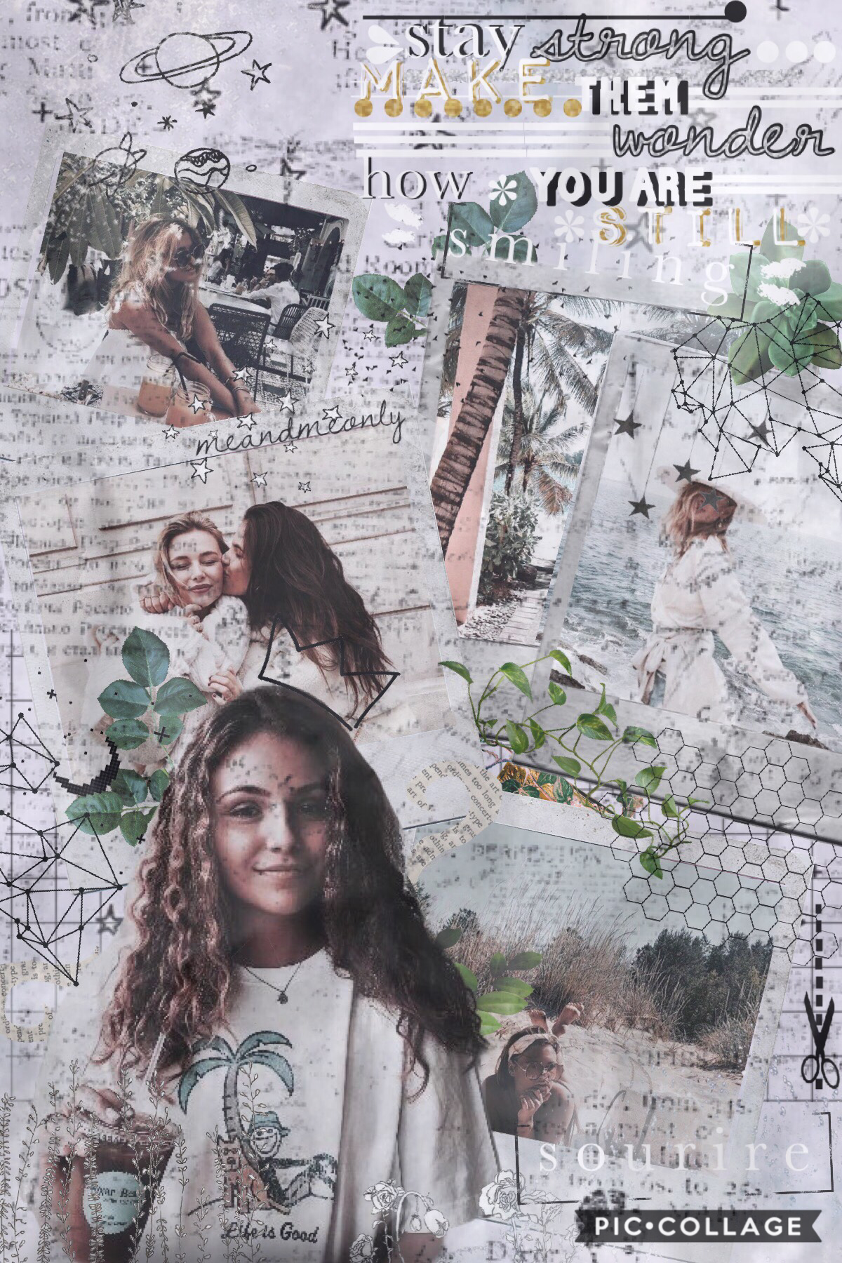 holaaa! sorry I haven't posted in while, schools keeping me really busy :( how's everyone's day? ❤️ QOTD: anyone know what sourire mean? (it's on the bottom right corner of the collage? AOTD: I'm asking you!!💓☺️