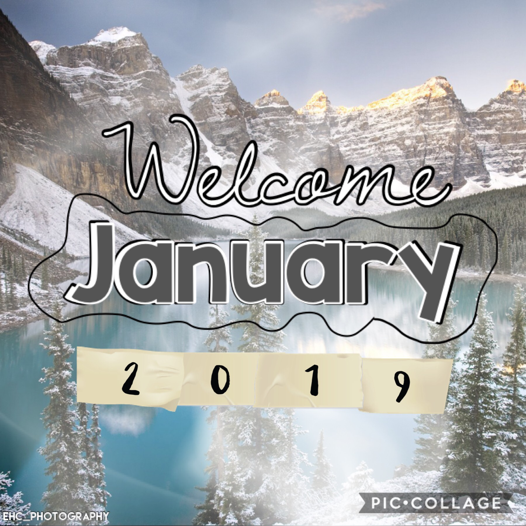 Happy January! ⛄️ 🧣 ❄️ ☕️ 🧤 🌨 🛷 ⛸ I'm reposting this cuz I changed it. 🙃 It's snowing, we haven't had any at all lately. 😱 I still need to post an update about my b-day and Christmas, but I'm off until Monday so I'll try to do it soon. 🤞🏻