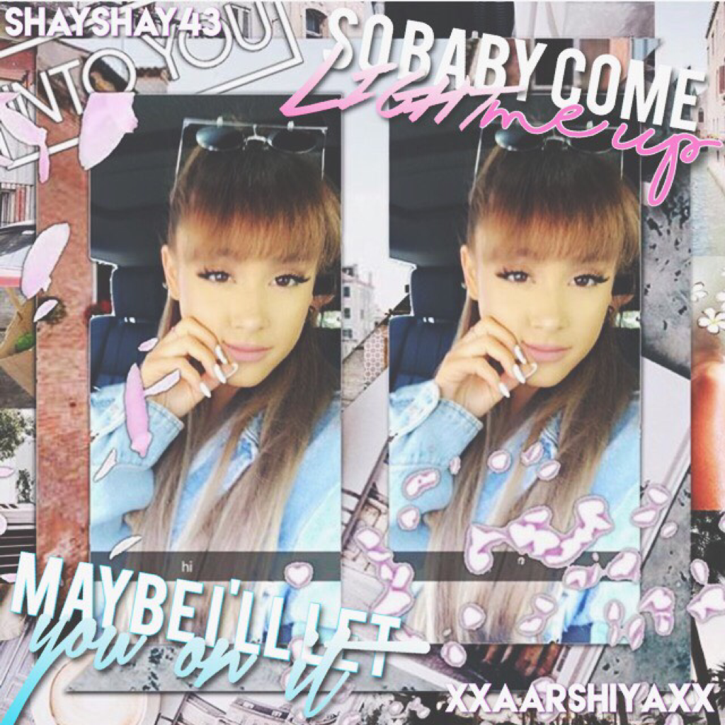 collab with the bae @shayshay43 ❤️❤️ go follow her rn and I'll spam u with likes 😇💗