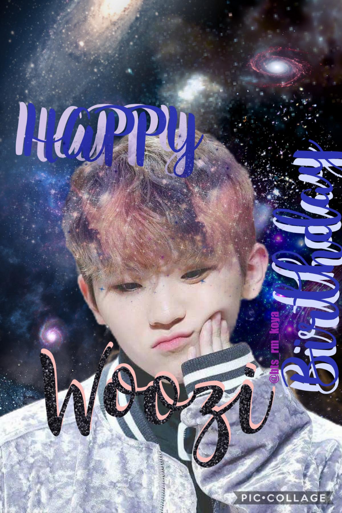 HAPPY BIRTHDAY WOOZI
