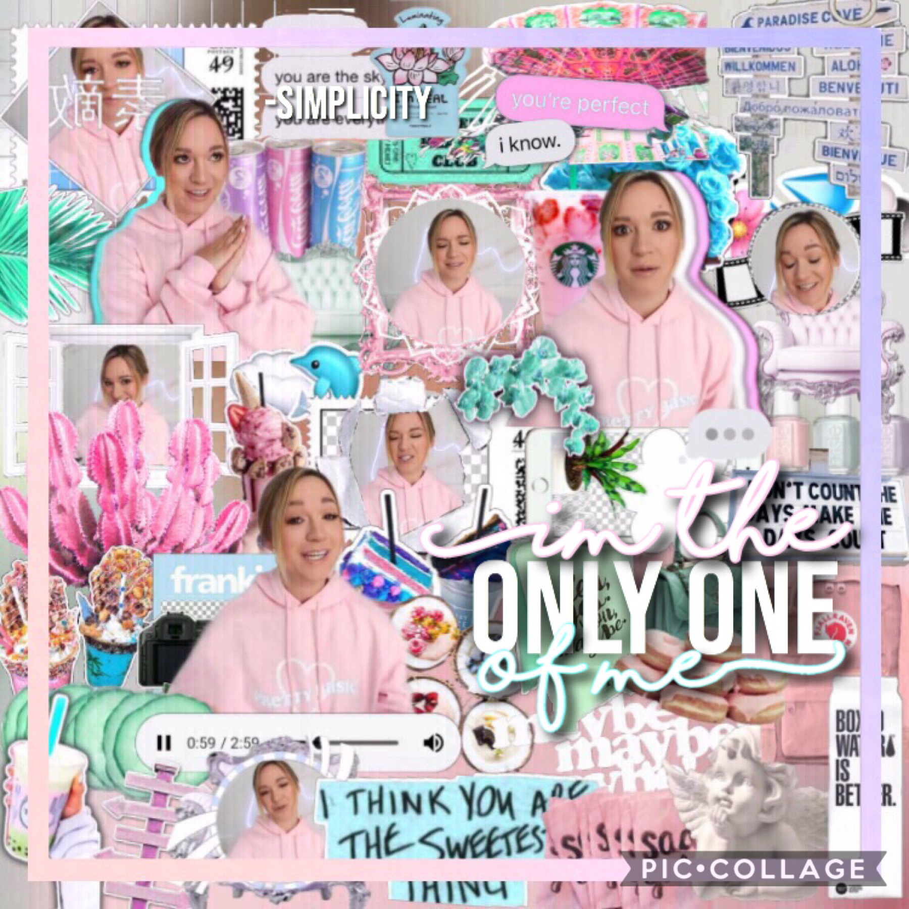 Hey guys!! Sorry I haven't posted in quite a bit! Here's a kind of pastel themed edit, it's a remake of one of my old edits and it looks really different. Hope you enjoy this edit!❤️