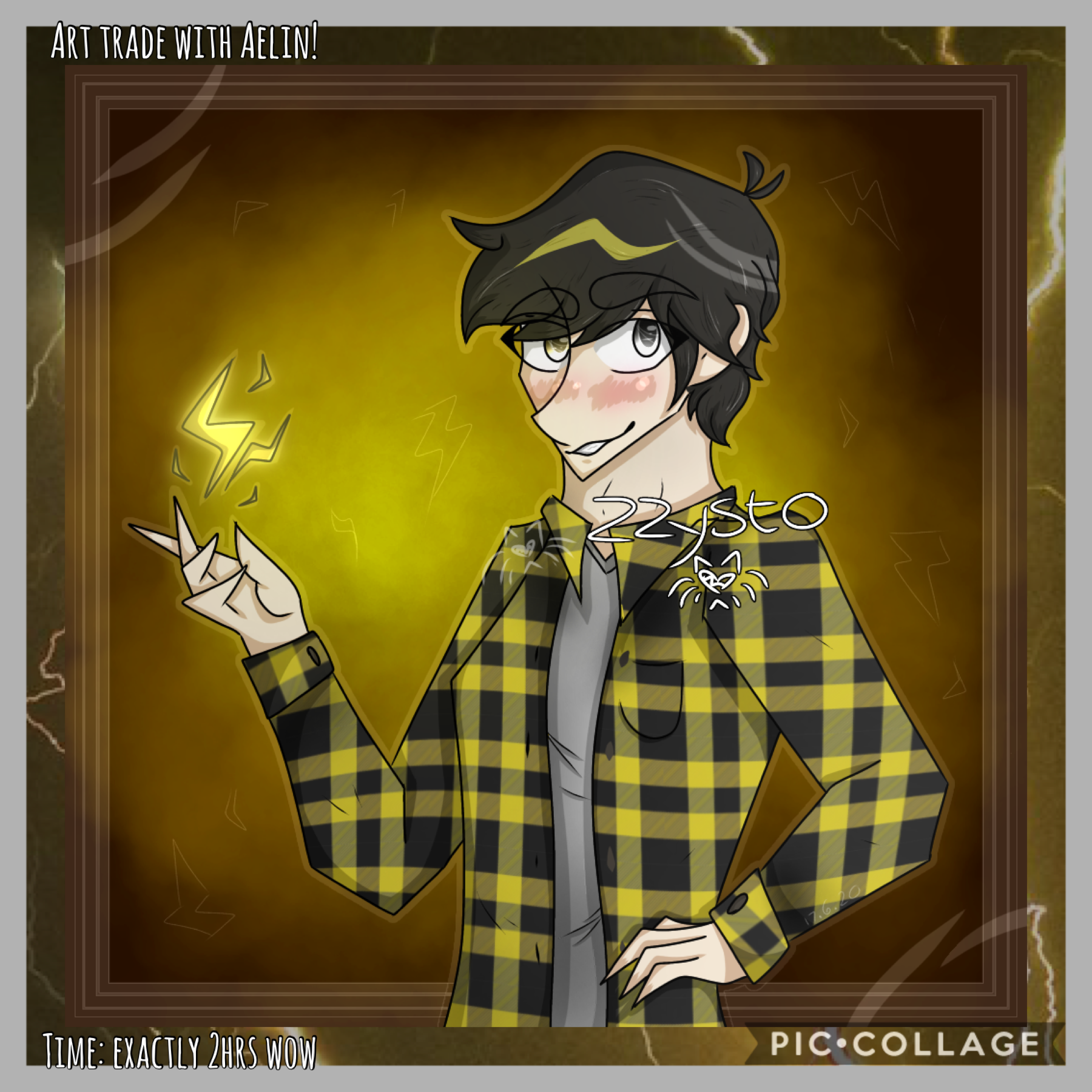 ⚡️Tap⚡️ -look in remixes- Sorry it's late but here he is! I loved drawing Lex so much, I especially love his hair qwq Oh, I started writing WoE again! I took a break around a month ago because motivation dïed but I revived it :')
