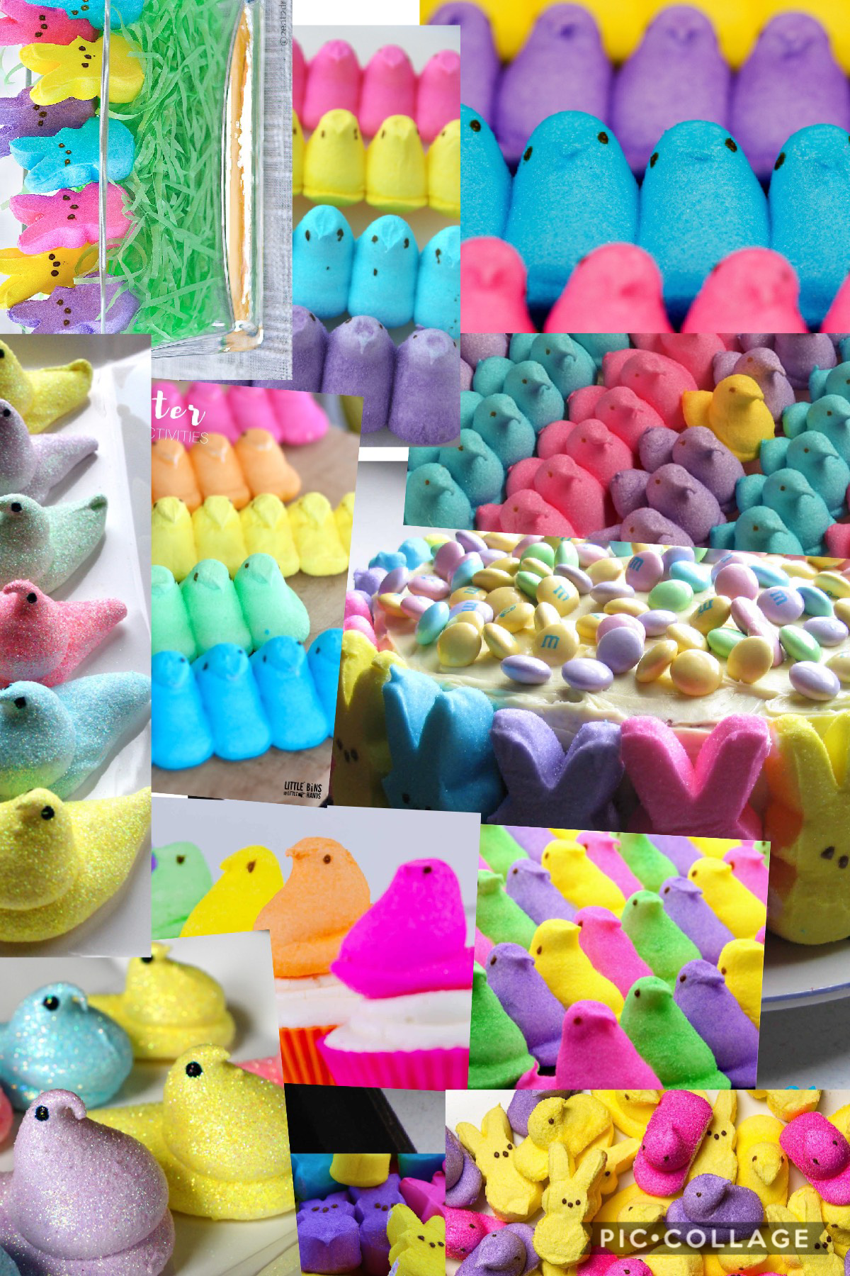 Hey guys let's get ready for Easter! Who likes peeps ?!