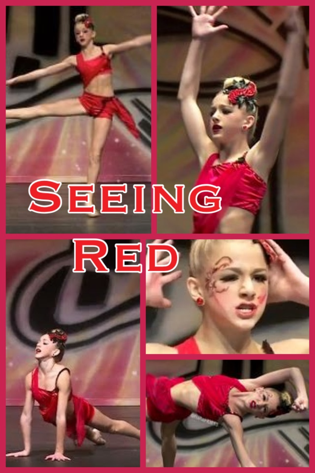 Seeing Red-Chloe Lukasiak