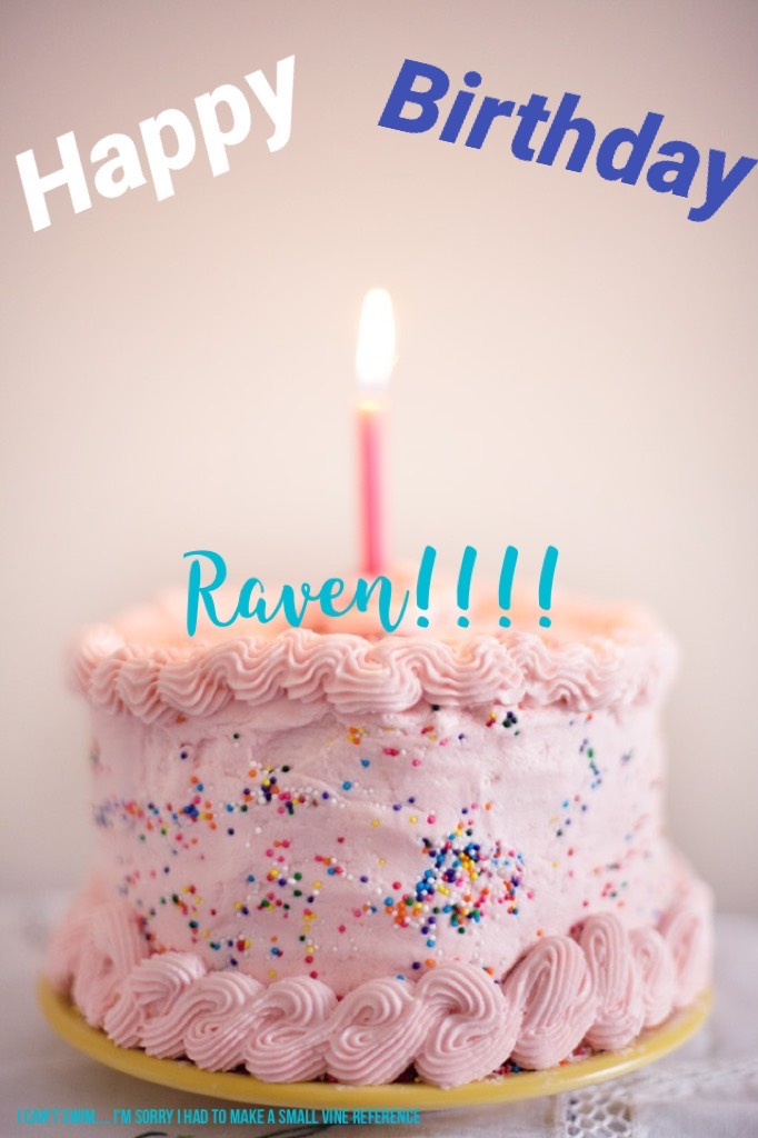 Happy Birthday Raven!  @TheCrazyRavenclaw Hope your day is magical! 💕