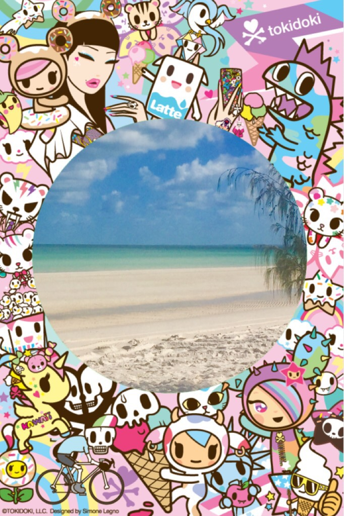 This is a pic of Fraser Island Charlotte nine years old