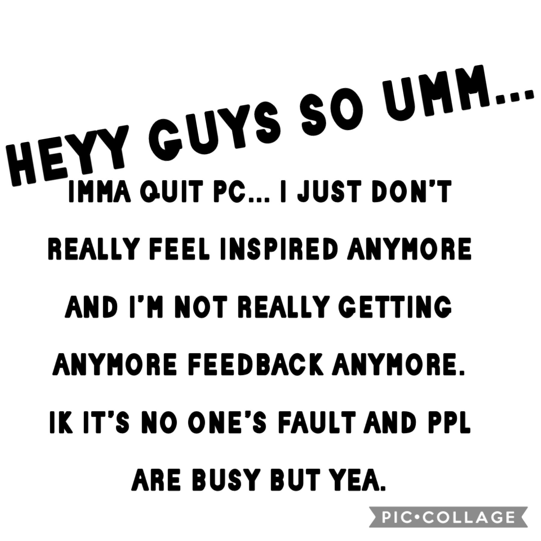 bye guys
