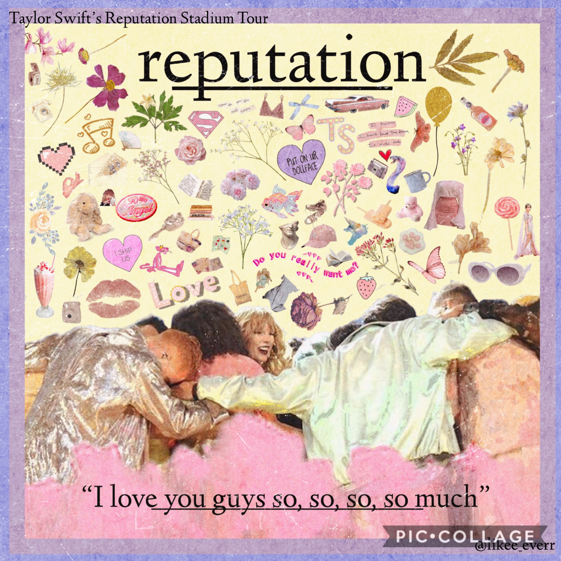 💖TAP💖 Being that I've watched the Rep Tour movie a million times by now, I don't why it took me so long to edit this one Q: What was your fav live performance from Rep Tour? A: The Holy Trinity mashup and Dress