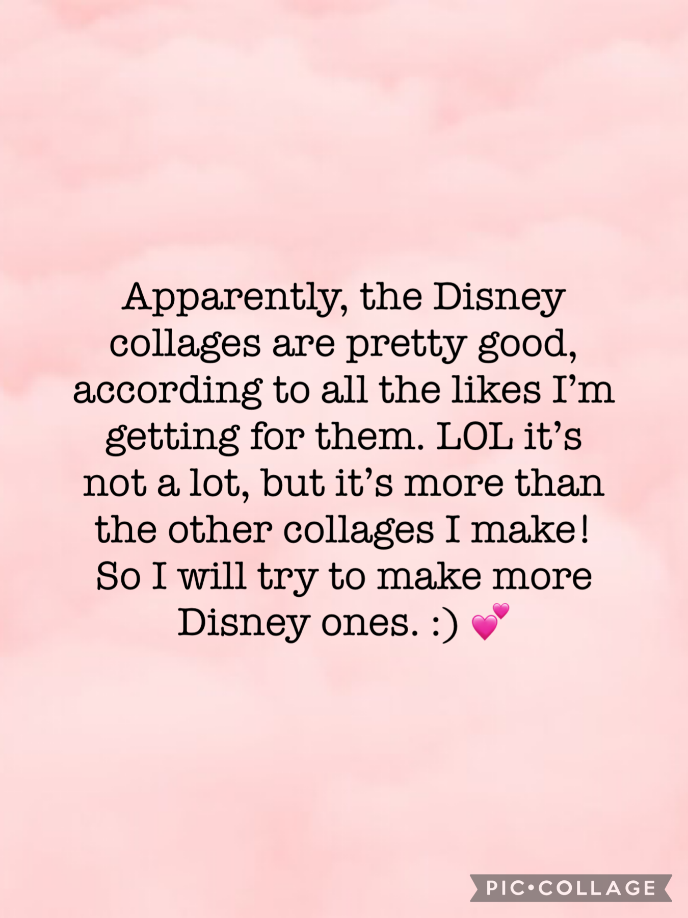 Disney!!! Coming right up!