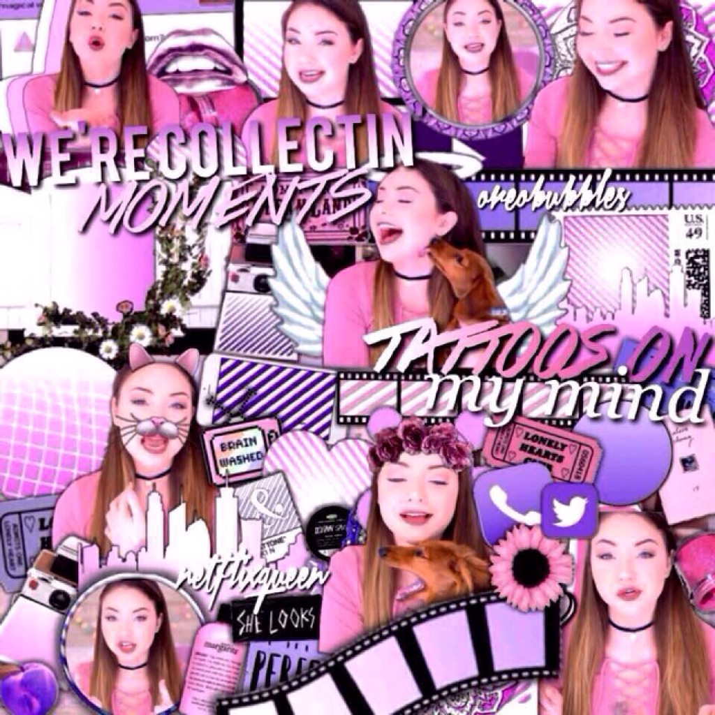 Collab with netflixqueen ☺️💖 btw guys I am going to Mexico this summer!!!😱😱