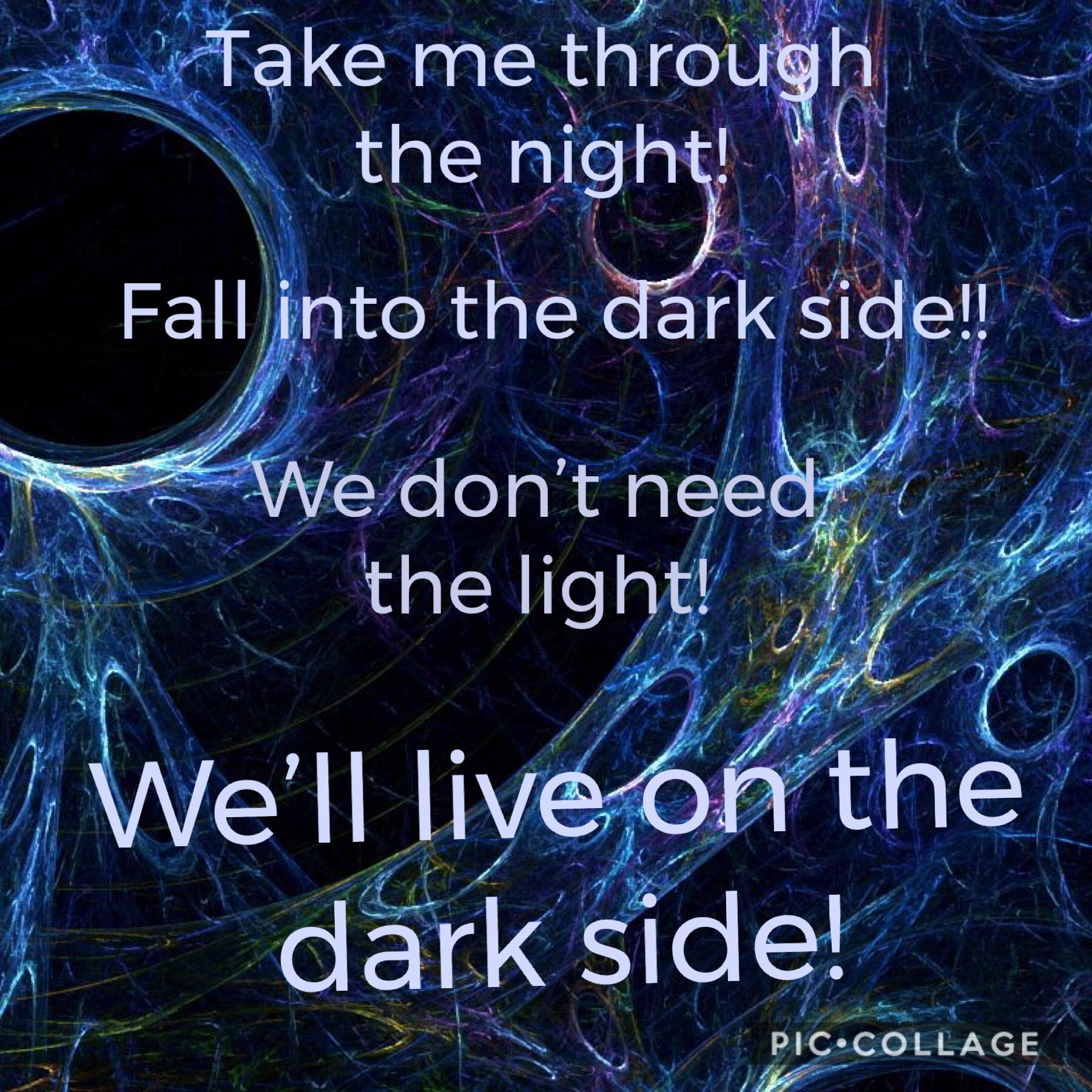 Some lyrics from Darkside from Alan Walker :)