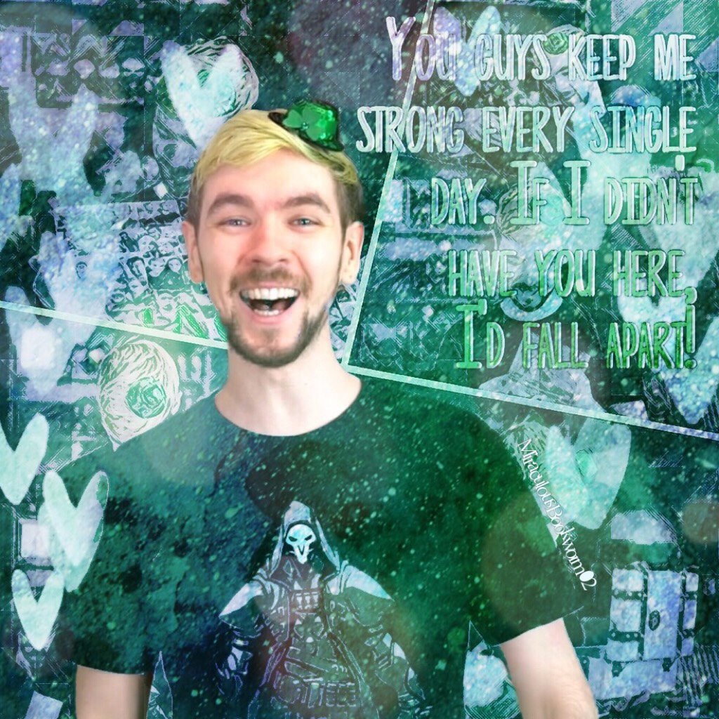 Jacksepticeye edit (I'm so proud of this one! And it still warms my heart how Jack thanks us for everything. He's just too sweet!)