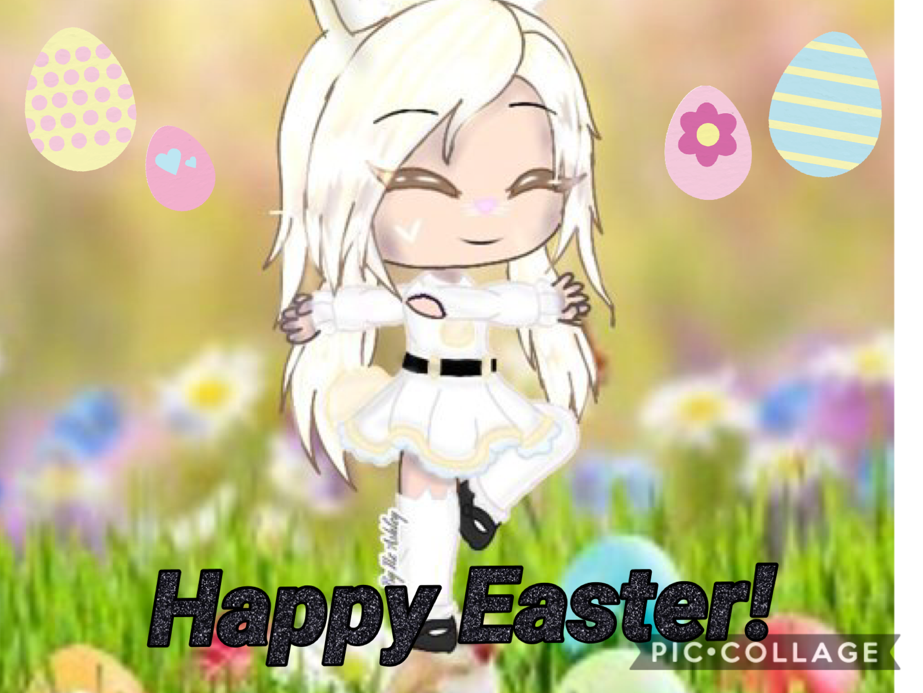 🐰CLICK🐰                                                       Happy Easter Everyone! If you're young or old Small or Big Happy or Sad Enjoy your Easter!  Make sure to stay safe and sanitise with your family!
