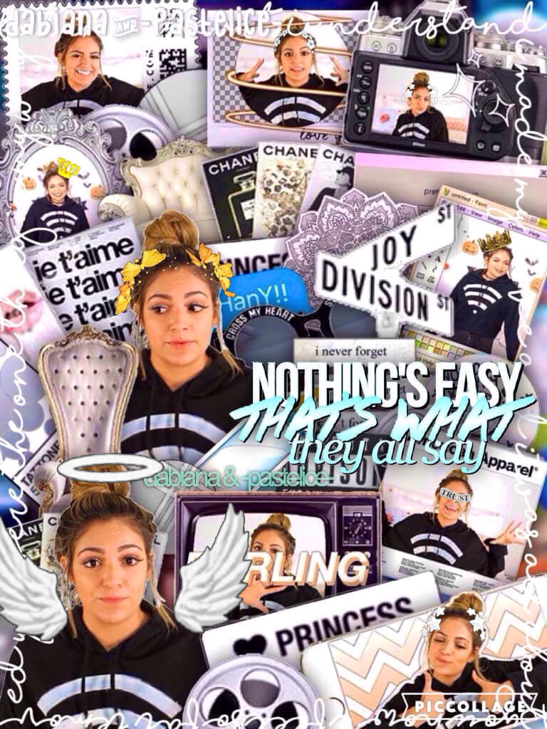 💙Click Here💙 Collab w/ the magnificent dabiana  Go follow her right now! Her collages slay my life! Rate 1-10 💙✨👻!!
