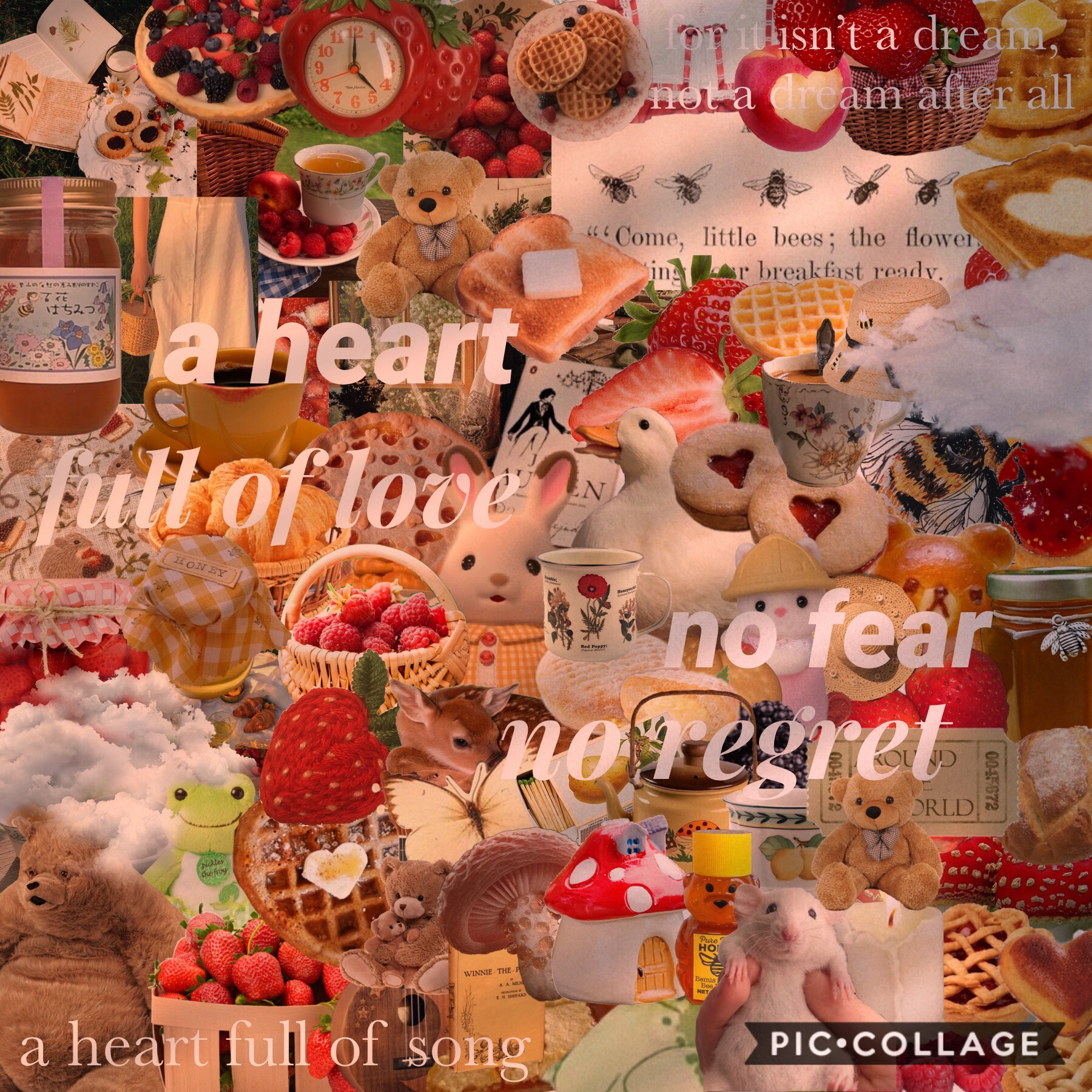 """🍓 t a p 🍓  🍯 ok so this song is """"a heart full of love"""" from les mis and it's so cute  🍯 I kinda think this is really cute? Like all the colors and stuff 🥰 🍯 How are you guyssss?"""