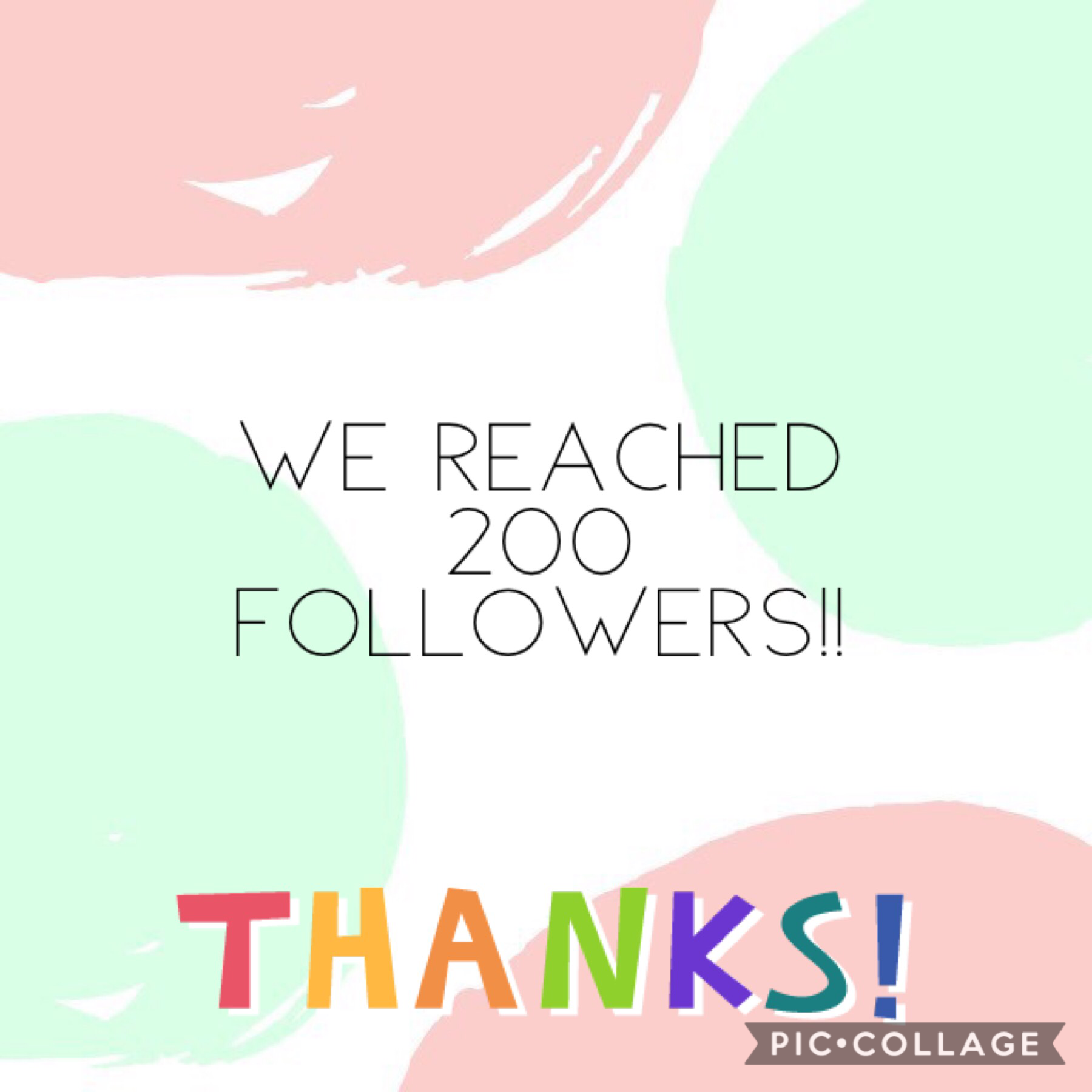 Thanks for more than 200 followers!! 😀😀