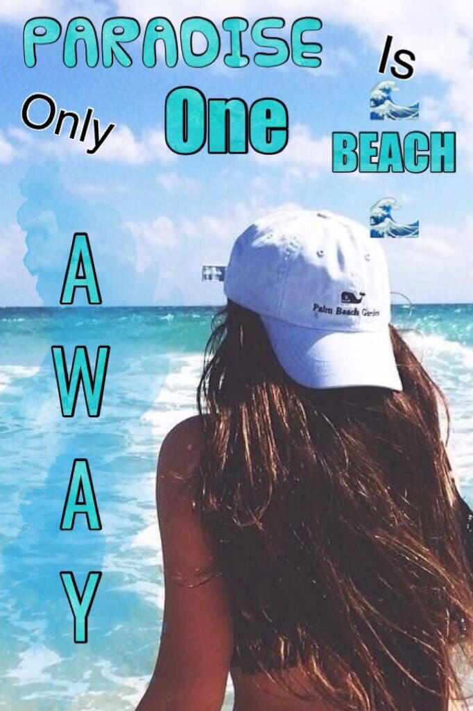 Only one beach away🌊🌊 🌊