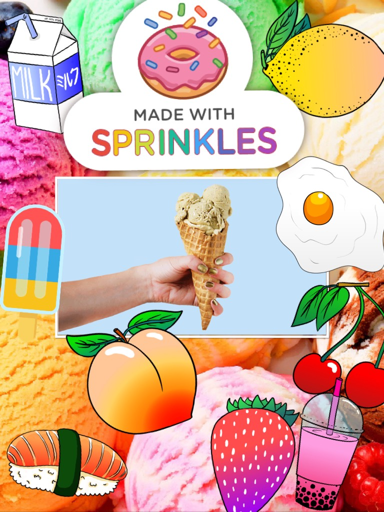 With Sprinkles , 🍦  ✨1nfin1ty✨