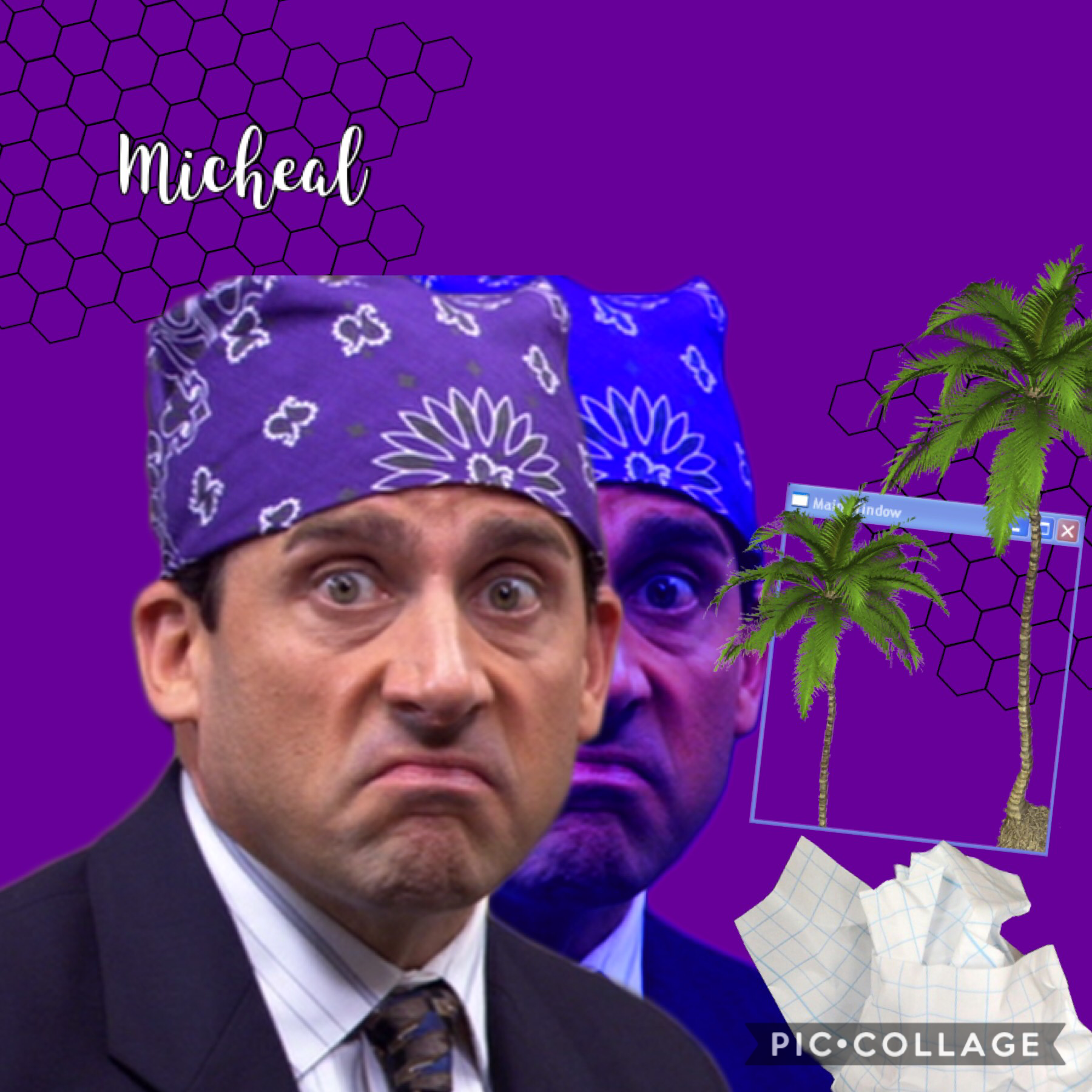 Micheal Scott y'all  -That's what she said -I am Beyoncé always #PrisonMike