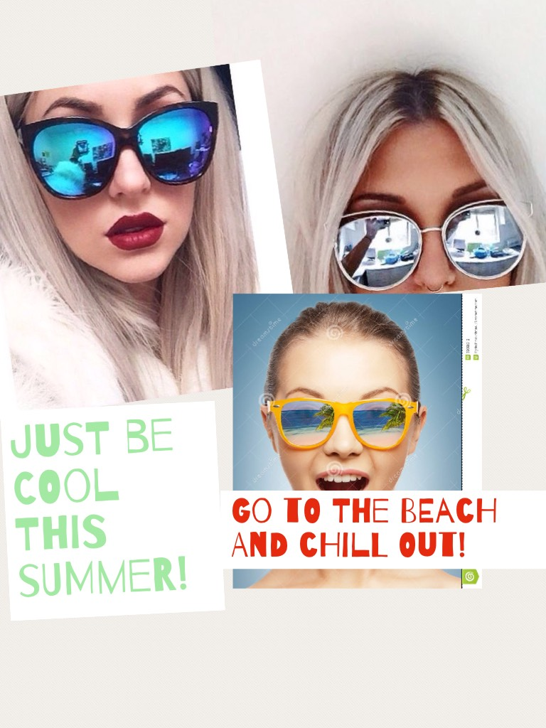 Just be cool this summer!