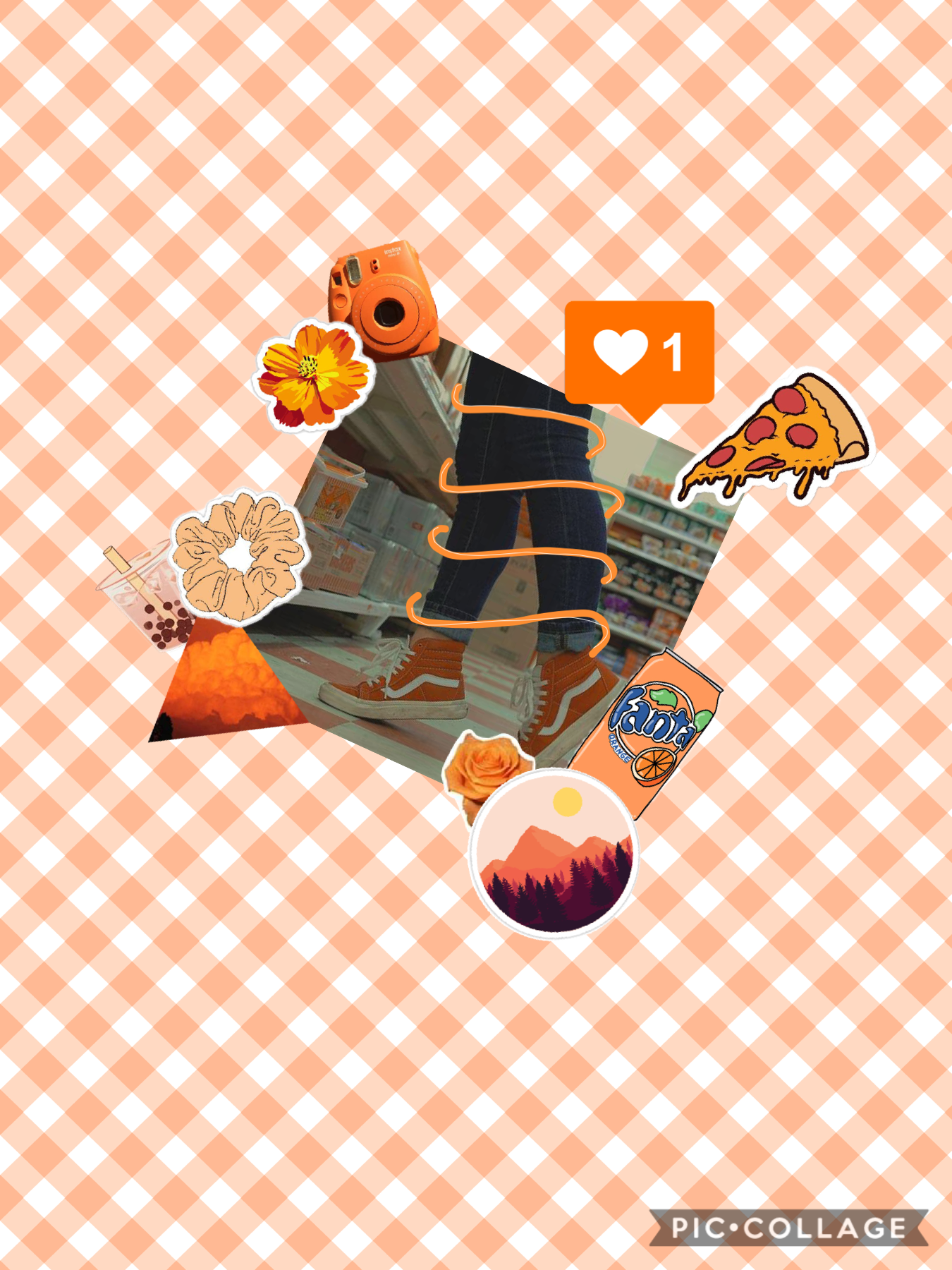 Tap Haha im doing every color of aesthetics  Orange this time! 🟧🟠🧡