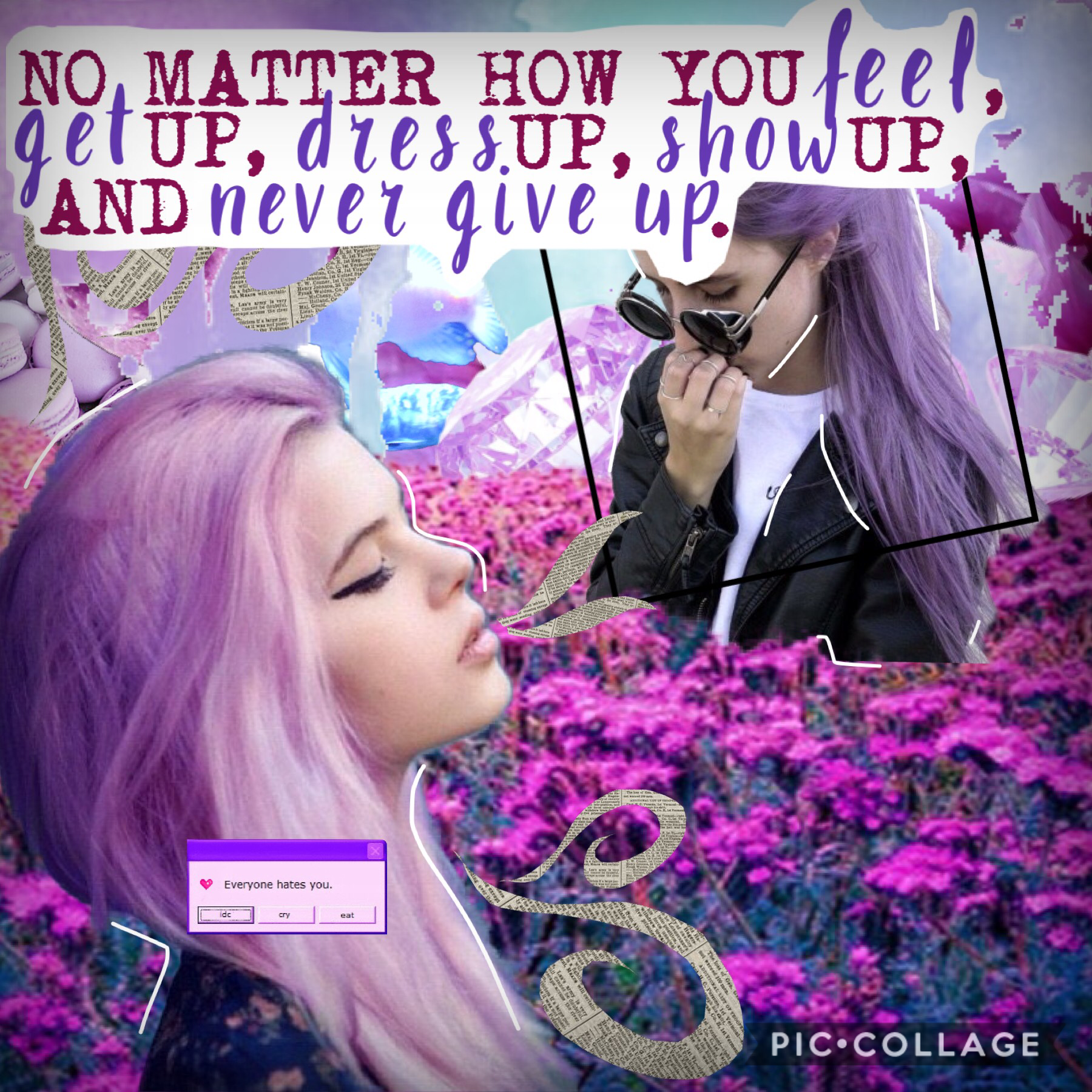 HEYYYYY    IVE DECIDED IM GONNA SETTLE ON MID-COMPLEX EDITS! Hru? This was an entry to a contest, I'll post the username in the comments. Rate and comment! Also, if you see my previous collage, please repost it. I know people have seen it, but not a singl