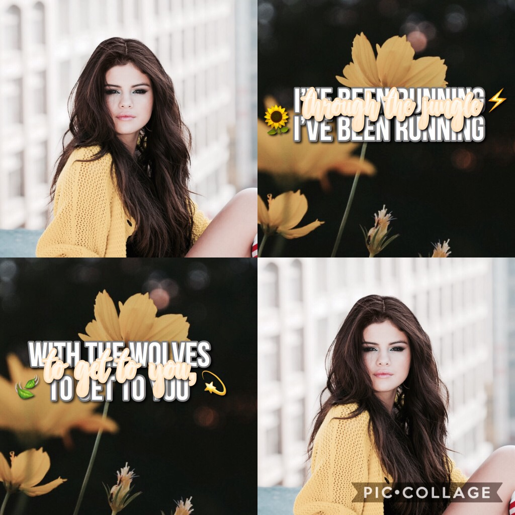 💛WHATT another edit? Tap💛 What's up peeps?🍃 QOTD: Favourite color? AOTD: Purple🌙🌻 Comment your favorite yellow emoji 🌻💫✨⚡️💛🌙👑