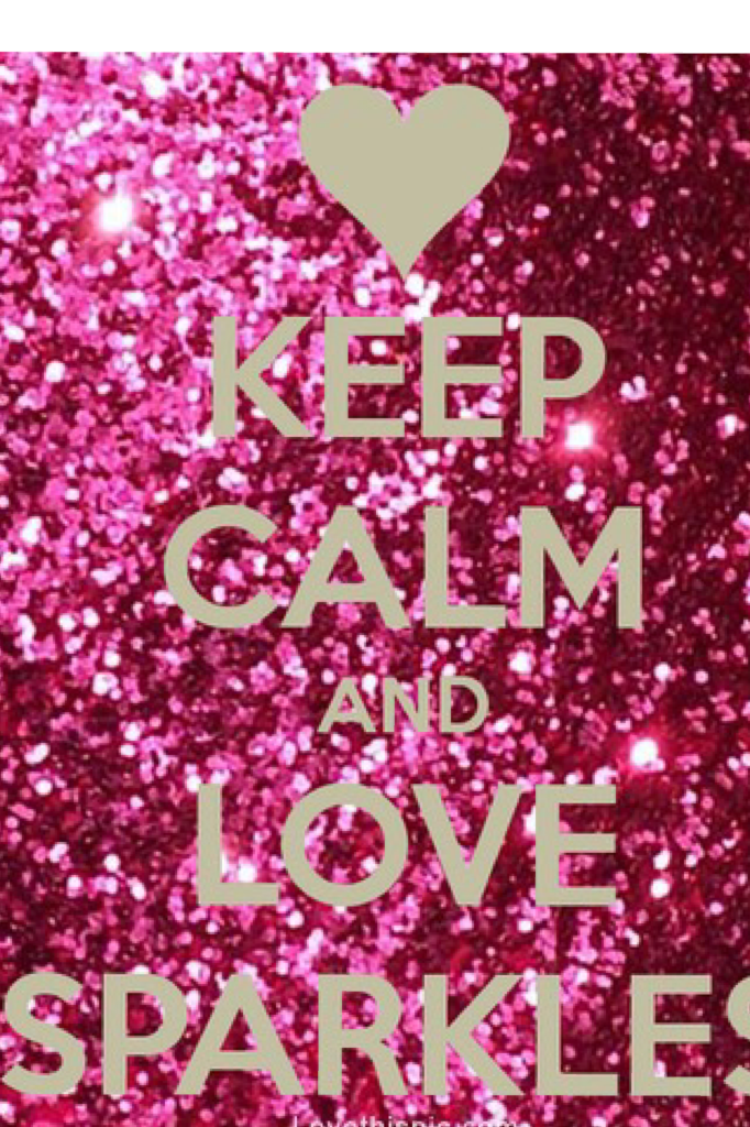 Love sparkles!😍😍😍😍😘😘😘😘