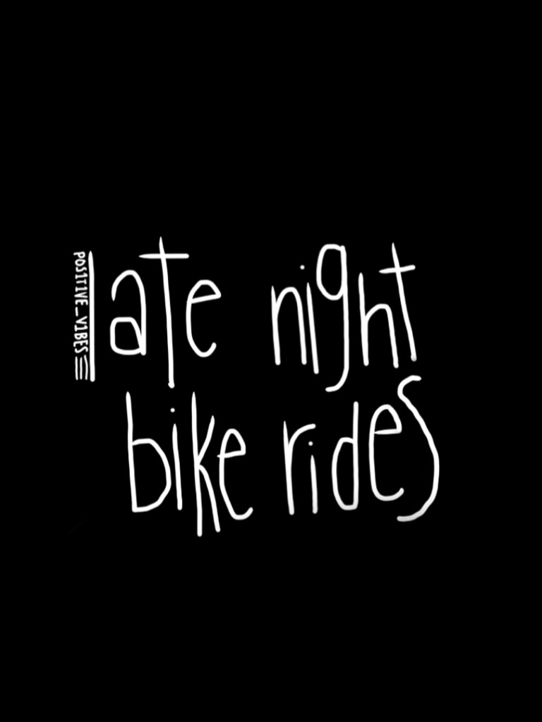 📓iM bAcK📓 I went bike riding at night and it was so much fun! 📓 I finished all my finals so I'm totally free 📓 One more week of school left!📓 #PCONLY #IMBACK #ONEMLREWEEK #IMALMOSTFREEE #OKAY #BAIII