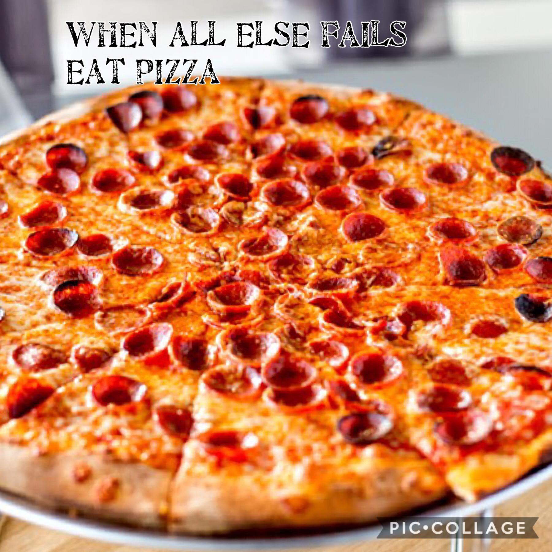 I loooooooooove pizza