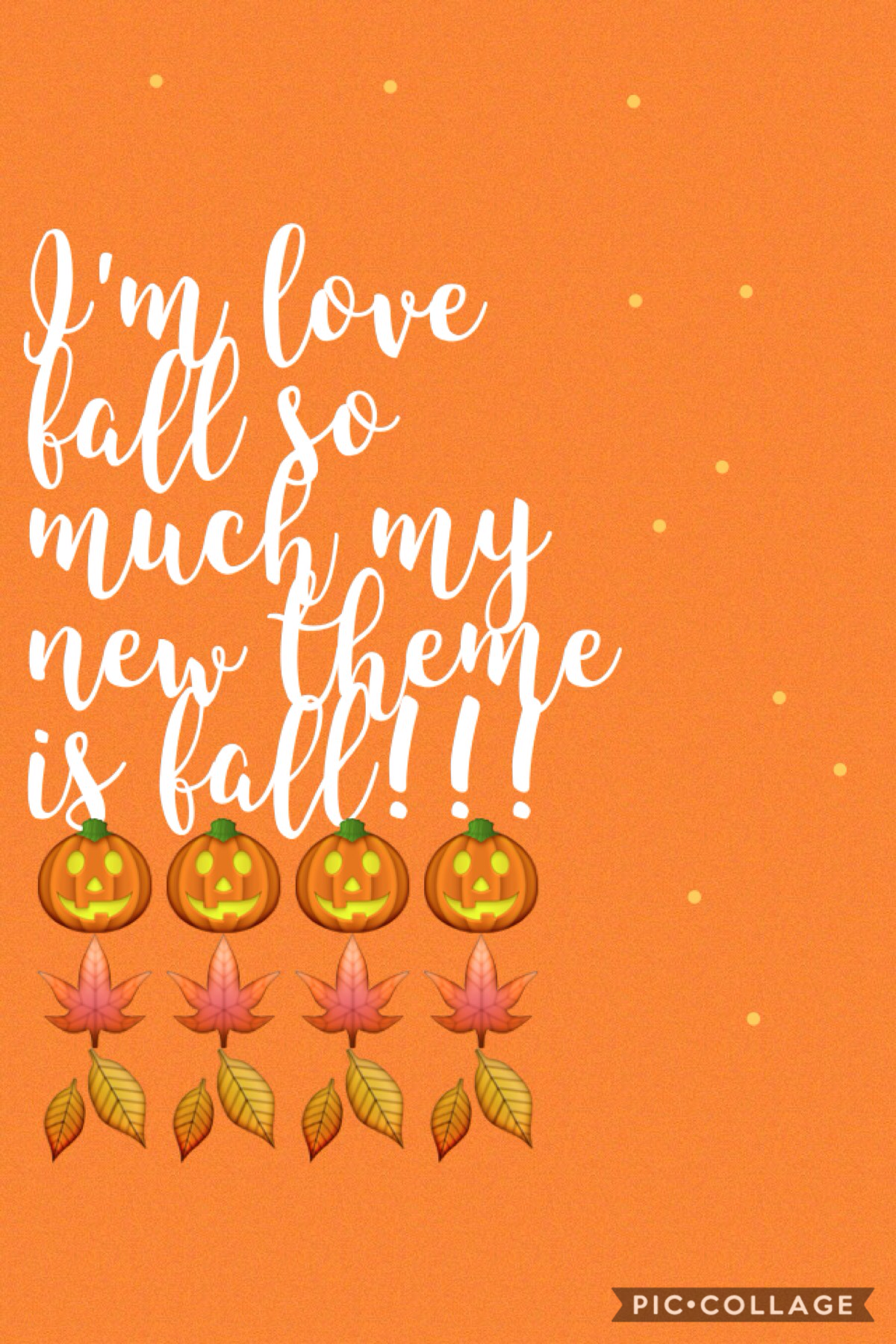 Tap Sooo....I'm just ready for fall so I'm just going to make my colleges that theme