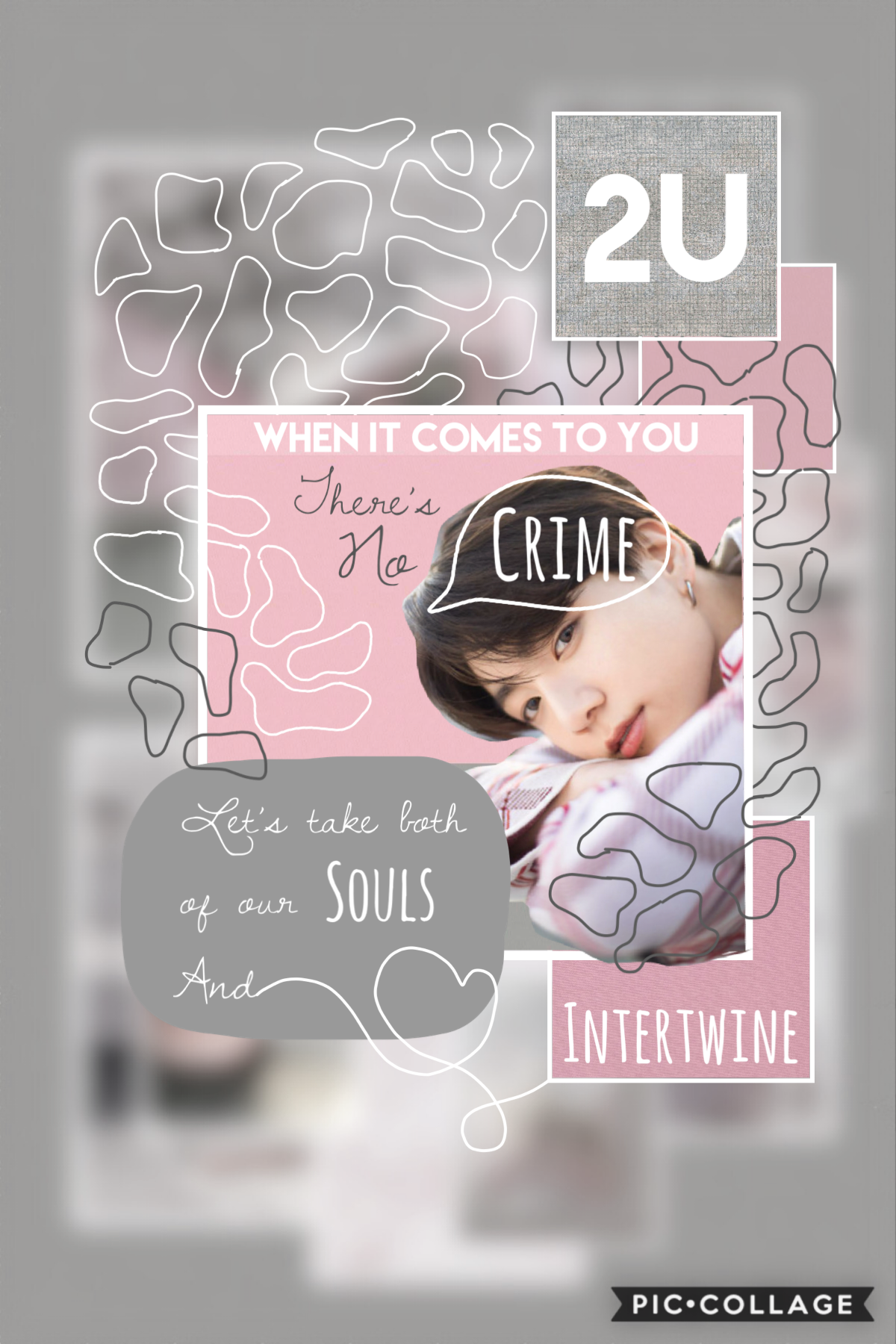 👇  This is the first edit I've made in a while 😅 The pattern is inspired by @BTSisMyLife's biology notebook doodles (you should question your life choices if you don't follow her already)  (Continued caption in comments) 💕