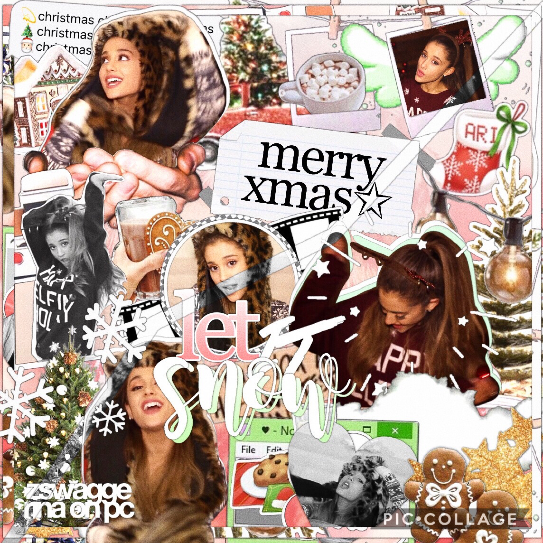 merry Christmas !! 🥰 love you so much, my best wishes to all of you 🍪🤍 !!!! lil edit for you 🎄