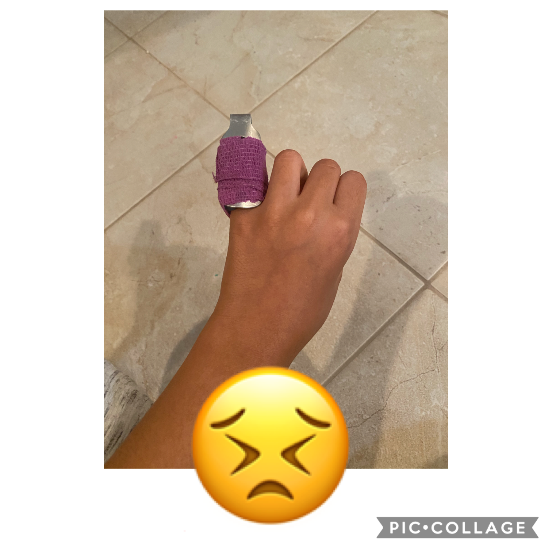 Tap:( I broke my finger and idk if this will affect my collages:(. Love from meee🤍🤍🤍😭😭😭