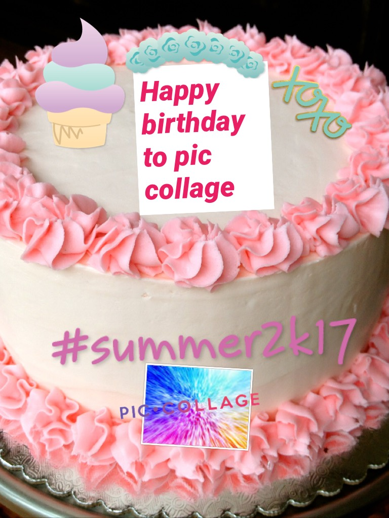 Happy birthday to pic collage