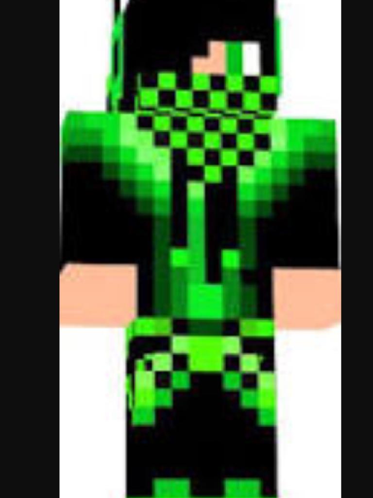 green gue майнкрафт скины #4
